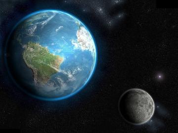 Земля на самом деле состоит из двух планет